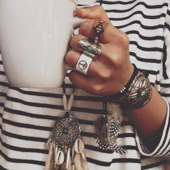rings hairstylist❤️Studió Parrucchieri Lory (Join us on our Facebook Page)  Via Cinzano 10, Torino, Italy.: Fashion, Jewelry, Rings, Boho, Accessories, Bohemian Style