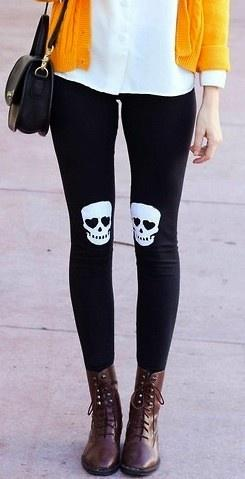 Skull Leggings: Clothes Style, Skulls Pirate, Blouse, Skull Fashion, Fashion Punk, Sugar Skulls, Skull Legging