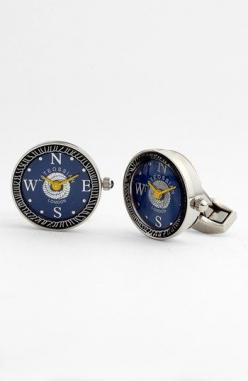 Tateossian 'Mechanical Nautical Watch' Cuff Links | Nordstrom: Compass Cufflinks, Cufflinks Gemelos, Detailed Cufflinks, Wedding Cufflinks, Crazy Cufflinks