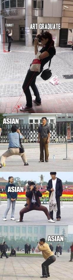 "The ""squat""- this is hilarious: Giggle, Truth, Taking Pictures, Art Graduate, So True, Funny Stuff, So Funny, Asian"