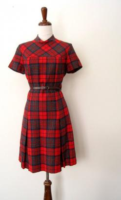 Vintage pendleton dress~yes I did have one of these...I was a huge lover of plaid...still am....: Plaid Dresses, Dresses Playsuits, Vintage Dresses, Pendleton Dress, Fashionable Clothing, Tartan, Pendleton Clothing