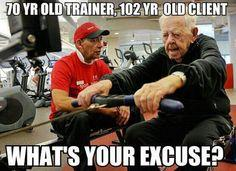 What's your excuse?: Inspiration, Too Late, 70 Years, Healthy, No Excuses, Shape, Fitness Motivation, Guys, Workout