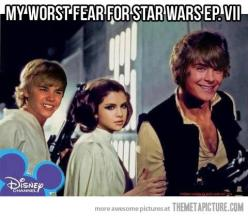 Worst fear for the new Star Wars movie… and kids this generation will consider them the original :(: Disney Stars, Disney Star Wars, Star Wars Movie, Nightmare, Funny, So True, Star Wars Vii, Worst Fear, Starwars