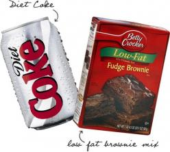 2 Ingredient Diet Coke Brownies!! Fewer calories than traditional brownies AND they taste awesome!: Weight Watchers, 2 Ingredients, Diet Coke Brownies, Low Calorie Dessert Recipe, Low Fat Brownie, Recipes, Skinny Brownie