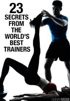 23 secrets from the world's best trainers If your goal is to look toned and lose belly fat, combine 20 minutes of high-intensity cardio and 20 minutes of strength training for your workout—you'll be finished in just 40 minutes and be in the best shape