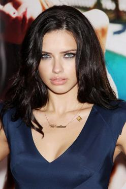 Adriana Lima- Flawless Beauty! https://www.facebook.com/pages/Vinofiamma/170631406315947?ref=br_rs: Adriana Lima Haircolor, Adriana Lima Makeup, Adriana Lima Style, Victorias Secret Models, Victoria Secret, Beauty, Hair Color, Adriana Lima Dark Hair