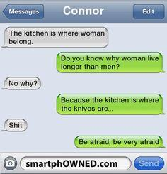 and you know it - Other - Autocorrect Fails and Funny Text Messages - SmartphOWNED: Hahahaha This, It Hahahaha, Funny Messages, Funny Text Messages Sexy, Epic Texts, Katniss Version, Funny Texts Messages, Hunger Games Funny Texts, Hunger Games Humor Texts