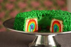 Check this out. . . . recipe for a leprechaun trap :)  soo creative!: Leprechaun Trap, Trap Cake, Rainbow Cakes, St. Patrick'S Day, St Patty, St Patrick'S Day, St Patricks
