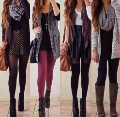 Cute Fall/Winter Outfits: Outfit Ideas, Style, Clothes, Dream Closet, Dress, Fall Outfits, Winter Outfits, Fall Fashion, Fall Winter