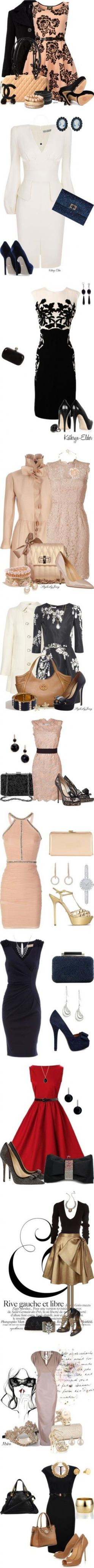 .: Fancy Outfit, Fashion, Outfit Ideas, Style, Classy Cocktail Dress, Party Outfits, Cocktail Party Outfit, Classy Dresses