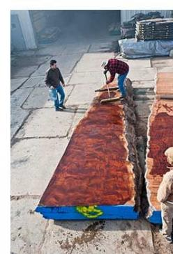 Figured Sapele planks  Hearne Hardwoods with over 140 species of domestic and exotic hardwoods in stock, is one of the largest specialty lumber yards in the world...: Slab Furniture, Exotic Hardwoods, Yard Furniture, Lumber Yards, Furniture Woodworking, H