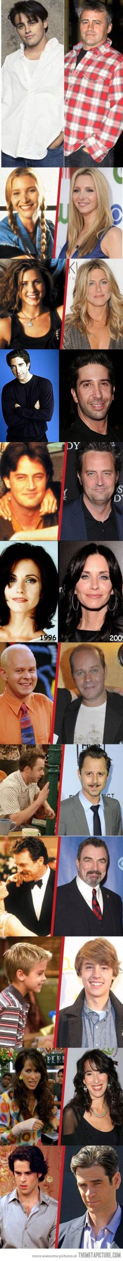 #FRIENDS | Then & Now: Friends Cast Then And Now, Friends Best, Friends I Ll, Friends Tv, Friends Cast Now, Friends Joey, Aw Friends, Friends Then And Now