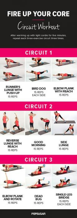 Goodbye, Tummy Tire; Hello, Amazing Abs: Printable Core Workout: Circuit Workouts, Fitness, Amazing Abs, Core Workouts, Ab Circuit, Work Outs, Core Circuit