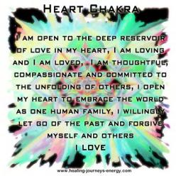 Heart Chakra - Our ability to love.  Location: Center of chest just above heart.  Emotional issues: Love, joy, inner peace.: Chakra Heart, Chakra Affirmations, Heart Chakras, Google Search, Chakra 4 Heart Green, Life Affirmations, Heart Affirmation, Chakr