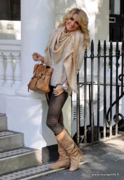 I'm sure I've pinned this before, but I love everything in this set!: Women S, Fall Style, Bag, Fall Outfits, Winter Outfits, Fall Fashion, Winter Fashion, Scarf, Fall Winter