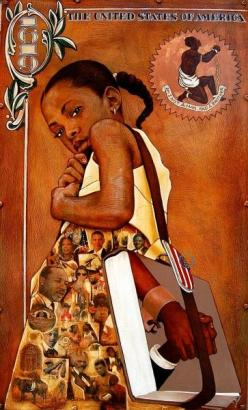 I Am History...wait this looks like me when i was a young girl..luv it!: Blackart, Gerald Ivey, African American Art, African Art, Artist, Black Art, Black History, Beautiful Art, Painting