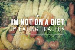 I find myself saying this a lot at work.  I get a lot of grief for not pigging out all day long on junk food! I'm just pigging out on soup and fruit and coffee and... oh yeah, that damn granola bar. : I M Eating, Diet, Weight Loss, Fitness, Healthy Ea