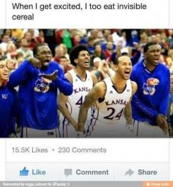 I probably just laughed way too hard at this...: Giggle, Invisible Cereal, Funny Stuff, Humor, Invisiblecereal, Funnies, Eat Invisible