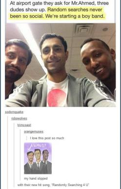 I want this group, in part because they're all hotties. (My random search experiences are rarely so good.): Coffee Shops, Giggle, Band Tumblr, Cant, Ahmed 3, So Funny, Ahmed S