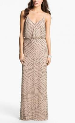 Long sequin dress.: Sequin Gown, Rehearsal Dinner, Adrianna Papell, Style, Bridesmaid Dresses, Gowns