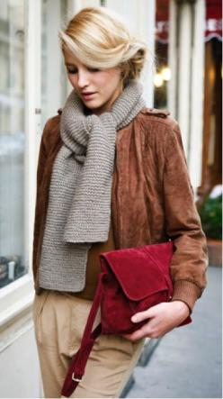 | Lookbook |: Fashion, Street Style, Outfit, Fall, Styles, Scarf, Hair