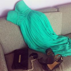 LOVE that dress: Fashion, Style, Color, Dream Closet, Clothes, Outfit, Dresses, Prom Dress