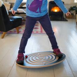 Move the wooden balls through the Labyrinth Wooden Balance Board!: Labyrinth Wooden, Beautiful Moon, Wooden Toys, Wooden Balance, Wooden Ball, Luna Toys, Kid, Labyrinths
