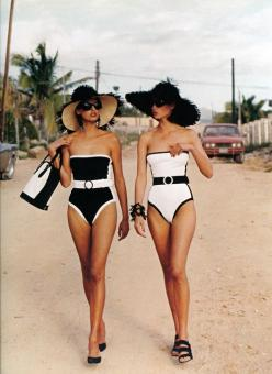 Old school bathing suits!: Fashion, Bathing Suits, Style, Swimsuits, Swimwear, Summer, Beach, One Piece