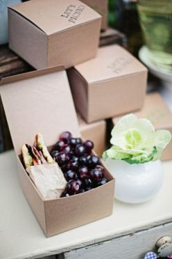 Pack individual lunchboxes. - https://www.facebook.com/different.solutions.page: Individual Lunchboxes, Picnic Ideas, Wedding, Picnic Box, Picnics