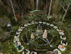 silverwitch-beautiful Would be so cool to pull this off in a LARP: Circles, Ostara Ritual, Witchcraft Garden, Witchcraft Magick, Witches Magic Pagan, A Witch S Garden, Paganism Witchcraft