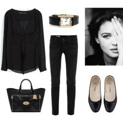 Such a grey day by trenchcoatandcoffee on Polyvore featuring Zara, AG Adriano Goldschmied, A.P.C., Mulberry, Cartier and french: Minimal Classic Style French, French Minimalist Fashion, Minimalist Style Fashion, French Fashion Style, Classic French Wardro