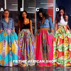 The African Shop-Skirts: Fashion, Style, Print Skirt, African Prints, African Shop, Africans, Maxi Skirts