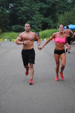 The couple that runs together kicks ass together.  Mens Fitness     Want a partner.: Body, Fit Couple, Fitness Health Workouts, Fitness Workout Couples Get, Fitness Inspiration, Workouts Motivation Fitness, Healthy