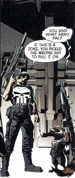The Punisher and Rocket Raccoon: Frank, Marvel Comic, Comic Book, Rockets, Comic Art, Punisher, Rocket Raccoon, Superhero, Galaxy
