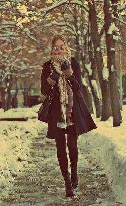 This outfit would work perfectly with one of our infinity scarves!: Winterfashion, Autumn Winter, Winter Style, Winter Outfits, Winter Fashion, Winteroutfit, Fall Winter, Winter Layer