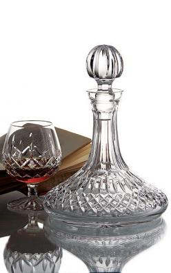 Waterford Lismore Ships Decanter from CrystalClassics.Com: Crystal Gifts, Decanter Wijn, Gift Ideas, Decanters Silver, Classy Glass, Ships Decanter