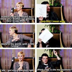 27 Times Jennifer Lawrence and Josh Hutcherson Proved They Have The Best Offscreen Relationship Ever: Hutcherson Proved, Josh Hutcherson, Jennifer Lawrence Interview, Jennifer Lawrence Funny, Funny Jennifer Lawrence, Soulmate, Offscreen Relationship, Jlaw