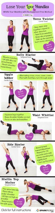 3 Right Exercises for Love Handles: Love Handles, Work Outs, Love Handle Workout, Workouts, Exercise, Fitness Workout