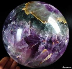 "6.5"" Fluorite Sphere, Crystal Ball: Crystals Geodes Rocks Gems, Crystal Rocks Gemstones, Crystals Gems Metals, Crystals Gems Stones Minerals, Crystals Minerals, Crystal Gems Minerals, Crystals Rocks, Crystals Gemstones, Crystals Gems Rocks"