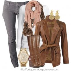 Brown jacket, white t-shirt, and layered brown scarves.: Gray Corduroy, Ideas, Style, Clothes, Fall Outfits, Corduroy Skinny, Fall Fashion, Skinny Pants, Fall Winter
