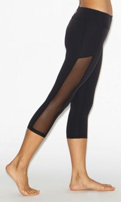 Crystal Mesh Paneled Leggings by BEYOND YOGA....these make want to sign up for yoga!: Yoga Outfit, Yoga Pants Outfit, Yoga Pant Outfit, Mesh Legging, Paneled Legging, Activewear