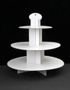 Cupcake Stand: Cupcake Stands, January, 2016, White, Products