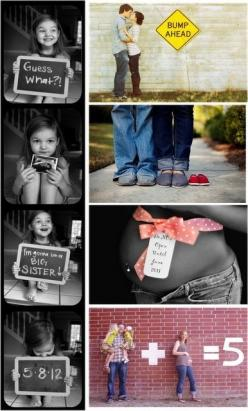 cute pictures for baby announcement!.... Not that I need it, I just think they are cute! :): Pregnancy Announcements, Announcement Idea, Bump Ahead, Photo Ideas, Baby Announcements, Pregnancy Photo, Expecting Announcement, Maternity Photo