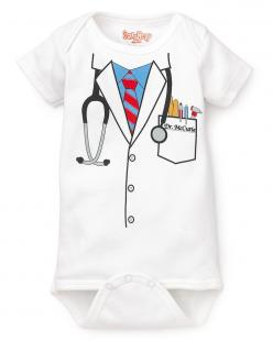 Doctor Onesie. So Cohen can be like his dad <3: Kety Infant, Infant Boys, Sizes 0 18, Doctor Bodysuit, Doctors, Baby Boy, Kid, Baby Stuff