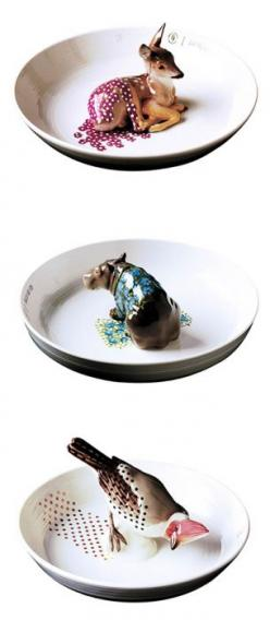 "Each one is so sweet, but the hippopotamus is the most darling.""Cute animal bowls made by Hella Jongerius"": Ceramics Animals, Animal Bowls Love, Animalistic Bowls, Ceramic Bowls, Hella Jongerius, Hellajongerius, Animal Ceramics"