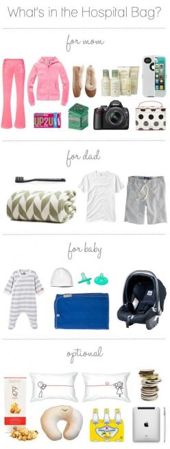 Emergency Hospital Bag Guide // 23 Incredibly Helpful Diagrams For Moms-To-Be: Baby Tips, Baby Time, Baby Pregnancy, Future Baby, Hospital Bag, Baby Stuff, Pregnancy Baby, Labor Delivery