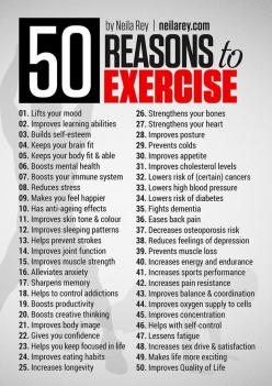 For when you need another reason to work out. And another one after that. | 29 Diagrams To Help You Get In Shape: Fitness Health Motivation, 50 Reasons, Health Fitness, Fitness Workouts, Fitness Exercises, Exercise Fitness, Healthy, Fitness Workout Motiva