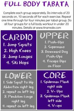 full body tabata workout. Hate these, but they're some of the best workouts I've had: Fitness, Work Outs, Full Body Tabata Workout, Full Body, Exercise, Full Body Workout, Body Weight