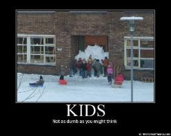 Funny Kids Funny Pictures - Daily Funny, Stupid, & Hilarious Pics: Schools, Snow, Funny Stuff, Funnies, Smart Kids, Humor, Eternal Recess, Kids Work