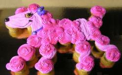Google Image Result for http://www.cupcakesbycarrie.net/Poodle_op_800x493.jpg: Cupcakes Con, Poodle Cupcakes, Birthdays, Cupcake Cakes, Cakes Cupcakes Pullapart, Dog Cakes Cupcakes, Dog Cupcakes Cakes Parties, Dog Birthday Cakes